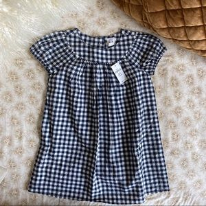 GAP | Baby Girl Puff Sleeve Tiny Gingham Dress